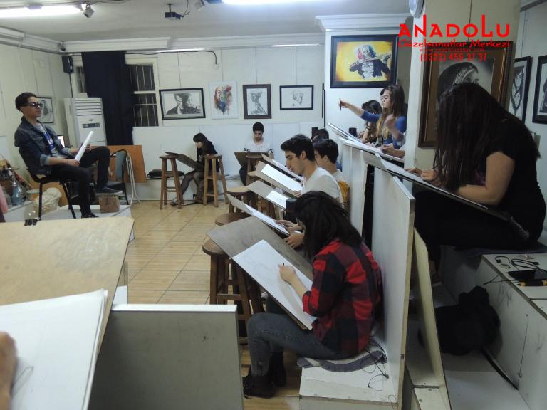 Anadolu Çizim Dersleri Antalyada