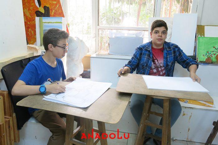 Lise Öğrencilere Resim Kursları Antalyada