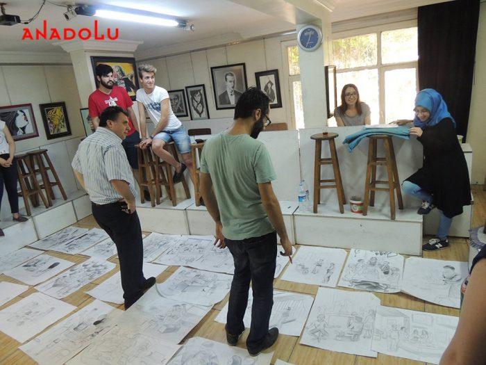 Üniversiteye Hazırlık Çizimler Antalyada