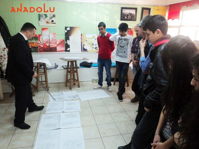 Antalyada Sanat Eğitimi