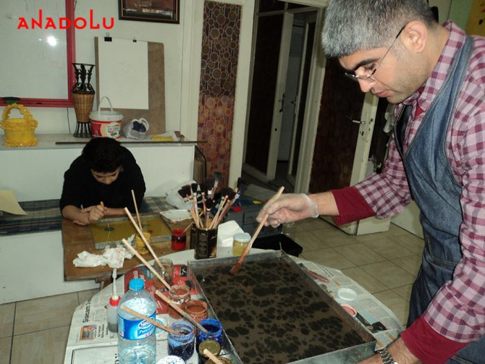 Antalyada Ebru Eğitimleri
