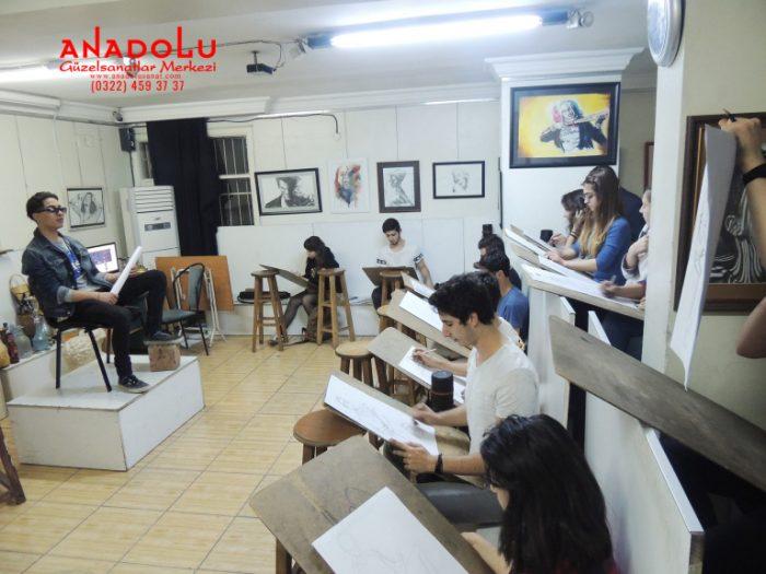 Antalyada Güzel Sanatlar Fakülteleri İçin Hazırlık Kursları