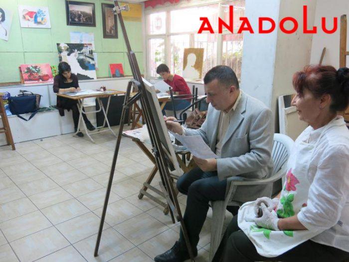 Yağlıboya Çizim Dersleri Hobi Grupları Antalyada