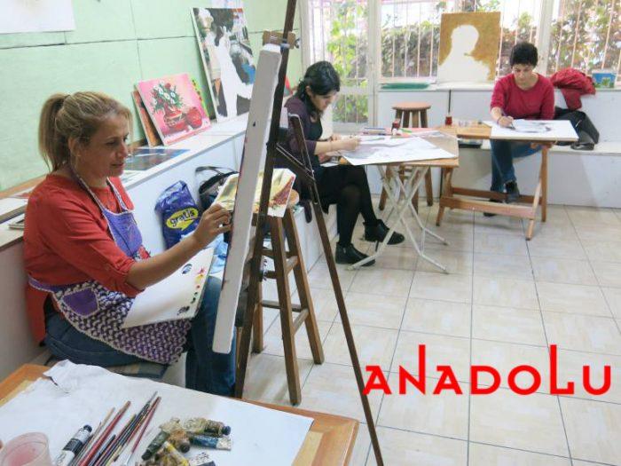 Hobiler İçin Yağlıboya Dersleri Antalyada